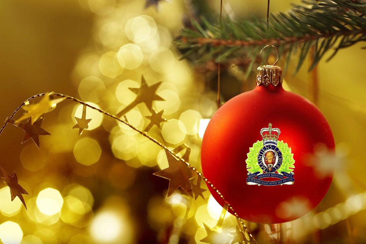 Merry Christmas Seasons Greeting Happy New Year Rcmp Veterans