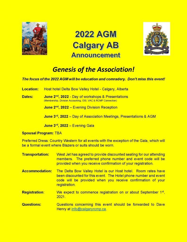 AGM 2022